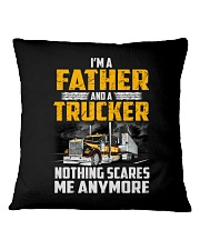 18 Wheels Truck Clothes - Nothing scares me Square Pillowcase thumbnail