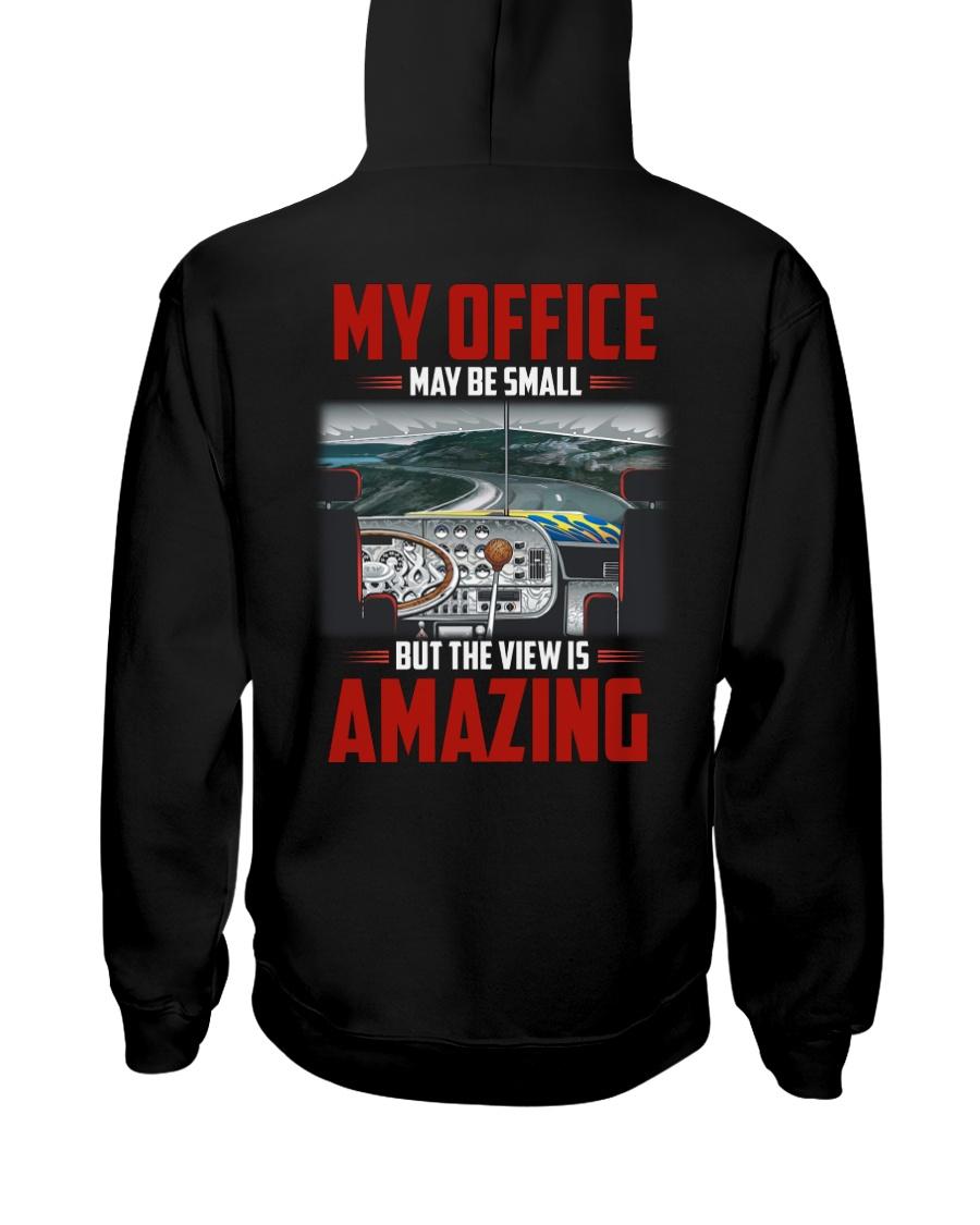 Trucker Clothes - My Office Amazing Hooded Sweatshirt