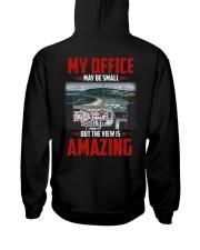 Trucker Clothes - My Office Amazing Hooded Sweatshirt back