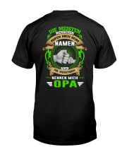 Die Meisten Menschen Rufen Mich Biem Namen Classic T-Shirt back