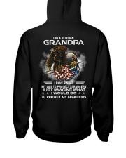 I Am A Grandpa Veteran Protect My Grandkids Hooded Sweatshirt tile