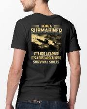 Being A Submarine  Classic T-Shirt lifestyle-mens-crewneck-back-5