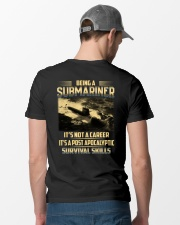 Being A Submarine  Classic T-Shirt lifestyle-mens-crewneck-back-6
