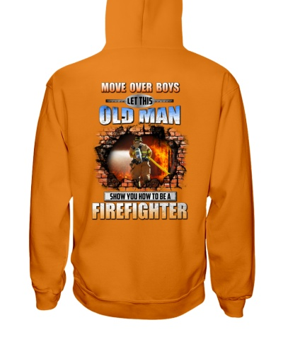 Let This Old Man Shirt For Firefighter-122U1D51101