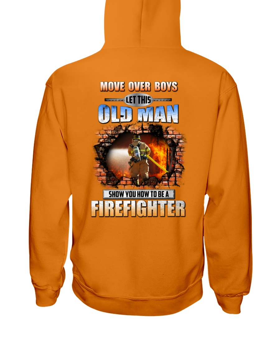 Let This Old Man Shirt For Firefighter-122U1D51101 Hooded Sweatshirt