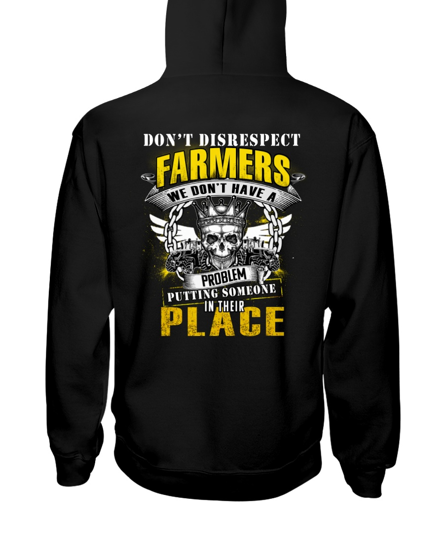 Don't Disrespect Farmer Hooded Sweatshirt