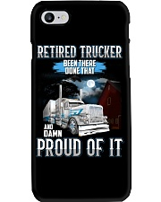 Trucker clothes - Retired trucker Proud of it Phone Case thumbnail