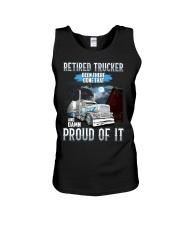 Trucker clothes - Retired trucker Proud of it Unisex Tank thumbnail