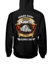 Behind Every Smartass Daughter Is A Asshole Dad Hooded Sweatshirt thumbnail