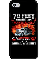 70 Feet and 40 tons  Phone Case thumbnail