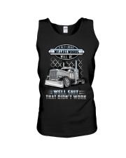 Trucker Clothes - I'm pretty confident Unisex Tank thumbnail