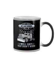 Trucker Clothes - I'm pretty confident Color Changing Mug thumbnail