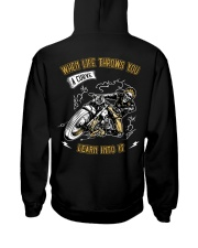 When Life Throws You A Curve Learn Into It Hooded Sweatshirt thumbnail