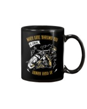 When Life Throws You A Curve Learn Into It Mug thumbnail