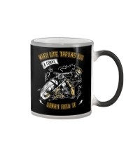 When Life Throws You A Curve Learn Into It Color Changing Mug thumbnail