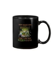 Trucker Clothes - Stop Asking Why Mug thumbnail