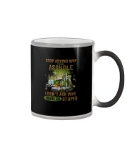 Trucker Clothes - Stop Asking Why Color Changing Mug thumbnail