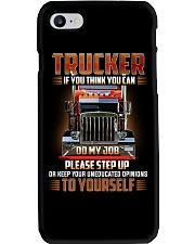 TRUCKER - If you think you can do my job Phone Case thumbnail