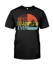 Best Motocross Dad Ever Classic T-Shirt front