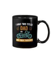I have two titles DAD and BIKER Mug thumbnail