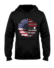 Veteran DAD - Imagine What I Do To Protect Family Hooded Sweatshirt thumbnail