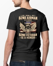Being A 82ND Veteran Is A Honor Classic T-Shirt lifestyle-mens-crewneck-back-5