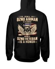 Being A 82ND Veteran Is A Honor Hooded Sweatshirt thumbnail