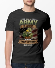 Being An Army Veteran Is An Honor Classic T-Shirt lifestyle-mens-crewneck-front-13