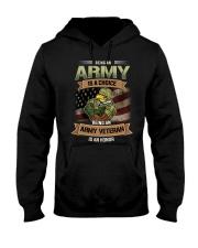 Being An Army Veteran Is An Honor Hooded Sweatshirt thumbnail
