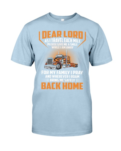 Trucker - Pray For Family - Safely Back Home