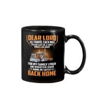 Trucker - Pray For Family - Safely Back Home Mug thumbnail
