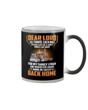 Trucker - Pray For Family - Safely Back Home Color Changing Mug thumbnail
