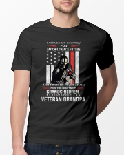 I Served My Country For My Children's Future Classic T-Shirt lifestyle-mens-crewneck-front-13
