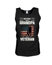 Before I Was A Grandpa I Was A Veteran Unisex Tank thumbnail