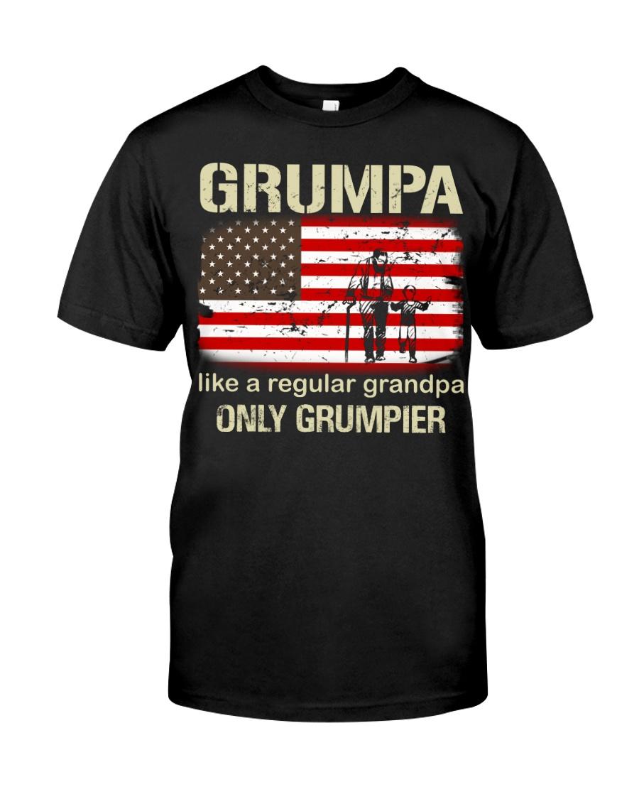 Grumpa Like A Regular Grandpa Classic T-Shirt