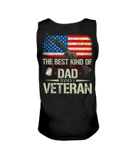 The Best Kind Of Dad Raises A Veteran Unisex Tank tile