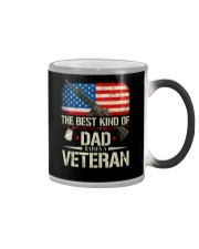 The Best Kind Of Dad Raises A Veteran Color Changing Mug tile