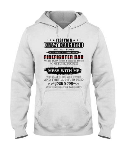 Shirts For Firefighter's Daughter-192U1D31109