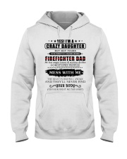 Shirts For Firefighter's Daughter-192U1D31109 Hooded Sweatshirt thumbnail