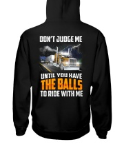 Trucker Clothes - Trucker Dont Judge Me Hooded Sweatshirt thumbnail