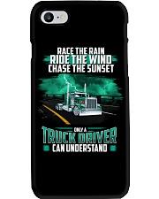 Trucker clothes - Race the rain Phone Case thumbnail