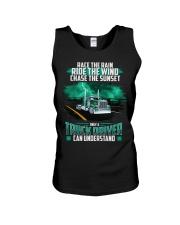 Trucker clothes - Race the rain Unisex Tank thumbnail