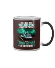 Trucker clothes - Race the rain Color Changing Mug thumbnail