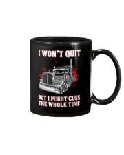 I won't quit but I might cuss the whole time Mug thumbnail