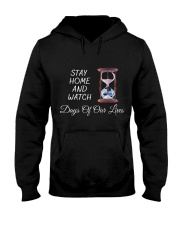 Stay Home and Watch DOOL Hooded Sweatshirt front