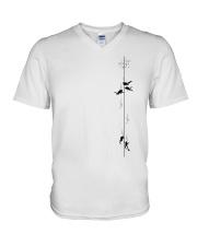 SCUBA DIVING 7840 V-Neck T-Shirt thumbnail