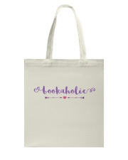 Bookaholic Tote Bag tile