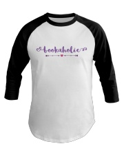 Bookaholic Baseball Tee tile