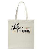 Shhh Reading Tote Bag thumbnail