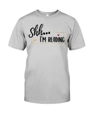 Shhh Reading Classic T-Shirt front